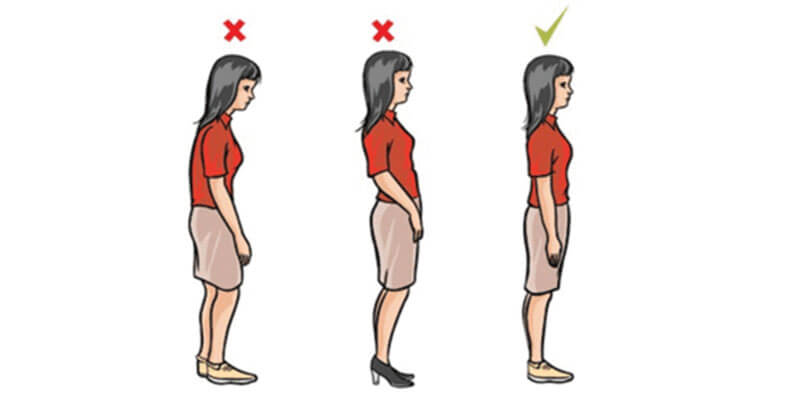 Hold Yourself with a Good Posture